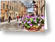 street Helsinki Finland Greeting Card