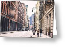 Streets Of Soho Greeting Card