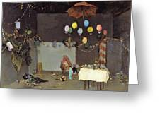 Studio Interior - Digital Remastered Edition Greeting Card
