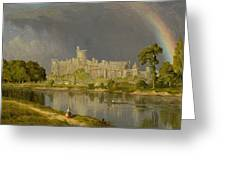 Study Of Windsor Castle Greeting Card