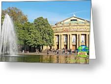 Stuttgart Opera House Greeting Card
