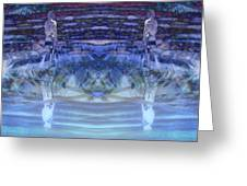 Submerged Identities Greeting Card
