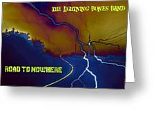Submitted Art Work For The Lightning Bones Band Greeting Card