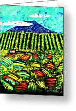 Sumatra Coffee Plantation Greeting Card