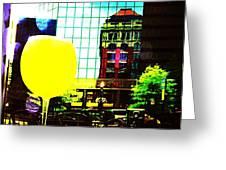 Summertime Downtown Lexington  Greeting Card