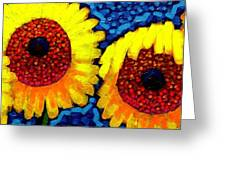 Sunlover Quintet  Greeting Card