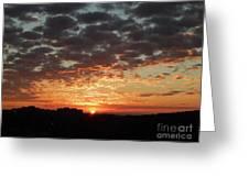 Sunrise 4 Greeting Card