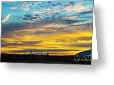 Sunrise At Beaumont Greeting Card