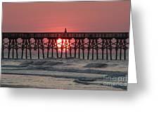 Sunrise Myrtle I Greeting Card