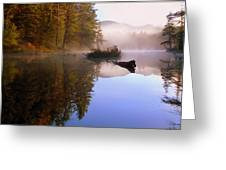 Sunrise On Nick's Lake Greeting Card