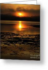 Sunrise Rathtrevor Beach 6 Greeting Card