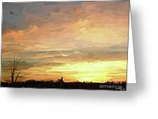 Sunset 092118 1a Greeting Card
