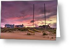 Sunset After Hurricane Greeting Card