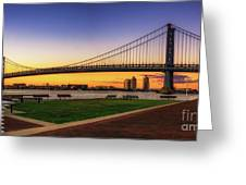 Sunset By The Ben Greeting Card