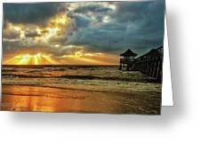 Sunset On The Gulf Greeting Card