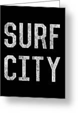 Surf City Greeting Card