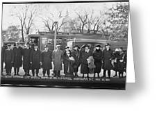 Swedish-american Line Special Party Greeting Card