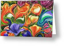 Symphony Of Color Greeting Card