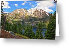 Tahoe Inspiration Point Greeting Card