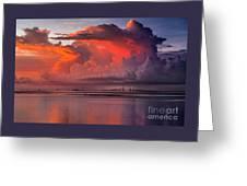 Tampa Bay Storm Greeting Card