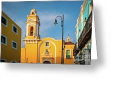 Templo Del Ex-hospital De San Roque Greeting Card