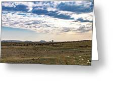 Thaba Nchu Landscape Greeting Card