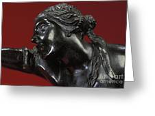 The Abduction Of Helen, 1683-86 Bronze Greeting Card