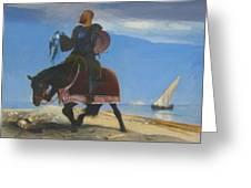 The Adventurer 1882 Greeting Card
