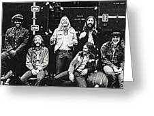 The Allman Brothers Band Greeting Card