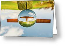 The Angel Of The North. Greeting Card