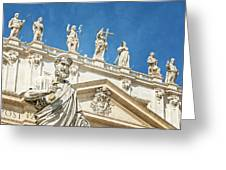 The Apostle Peter Vatican City Greeting Card