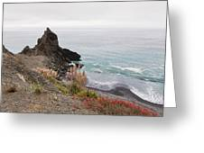 The Beauty Of Big Sur Greeting Card