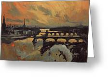 The Bridges Of Maastricht Greeting Card