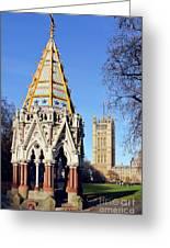 The Buxton Memorial Fountain London Greeting Card