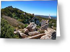 The Castle Of Moors Greeting Card
