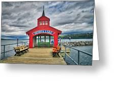 The Charm Of Seneca Lake - Finger Lakes, New York Greeting Card