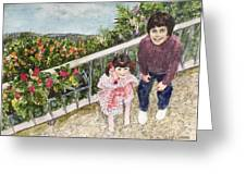 The Childrens Garden Greeting Card