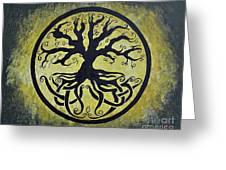 The Circle Of Life Greeting Card