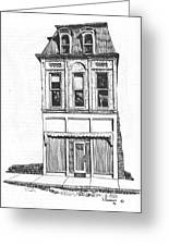 The Colwell Building Helena Montana Greeting Card