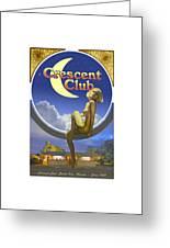 The Crescent Club, Siesta Key Greeting Card