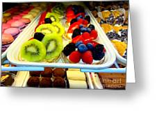 The Dessert Trays Greeting Card
