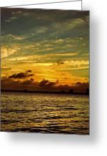The Eve Of Hurricane Michael IIi Greeting Card