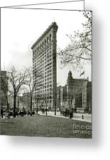 The Flatiron Building 1903 Greeting Card