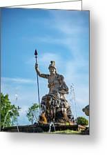 The Fountain Of Rometta Greeting Card