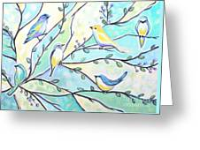 The Glass Birds Greeting Card