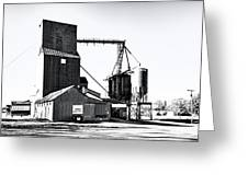 The Grain Elevator Greeting Card