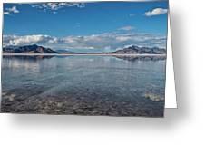 The Great Salt Lake Greeting Card