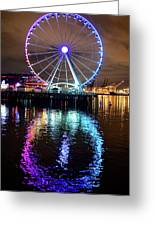 The Great Wheel Greeting Card