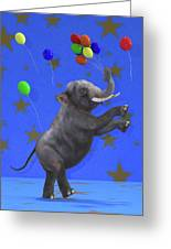 The Happiest Elephant Greeting Card