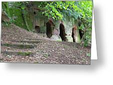 The Hermit's Cave Greeting Card